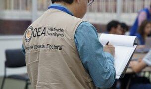 """Daniel Córdova: Misión de la OEA realizó """"un trabajo superficial, casi turístico"""""""