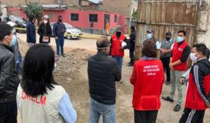 Minedu despliega acciones para reparar daños en colegios afectados por sismo en Lima