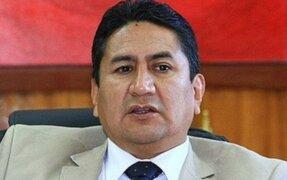 Vladimir Cerrón: OCMA suspendió a juez que anuló sentencias en su contra