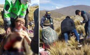 Abuelito queda herido tras enfrentarse a puma que atacó a su ganado en Arequipa