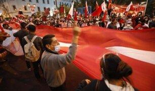 Ministro del Interior exhortó a manifestantes cumplir con las normas sanitarias