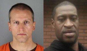 EEUU: expolicía que asesinó a George Floyd fue condenado a más de 20 años de prisión