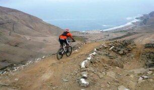 Chorrillos: adoptan medidas para dar seguridad a ciclistas que van al Morro Solar