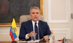 Perú condena ataque contra helicóptero que trasladaba al presidente de Colombia