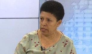 Martha Moyano: No se puede avalar el proceso electoral porque hay muchos cuestionamientos