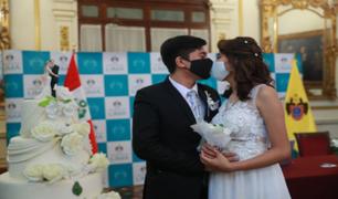 RENIEC registró más de 50 mil matrimonios entre el 2020 y lo que va del 2021