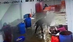 VMT: peligrosos delincuentes asaltan avícola en toque de queda y se llevan S/ 8.000
