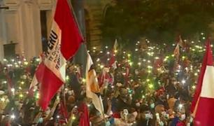 Cercado de Lima: seguidores de Keiko Fujimori vuelven a marchar
