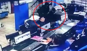 VES: delincuentes roban S/ 10.000 en oficina de venta de maquinarias