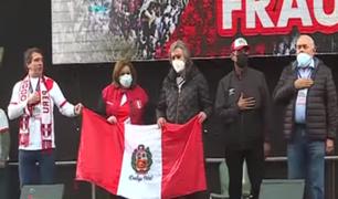 Campo de Marte: políticos expresaron su respaldo a Keiko Fujimori
