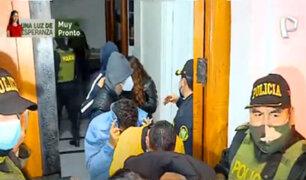 Covid-19: unas 250 personas fueron intervenidas en un bar del Cercado de Lima