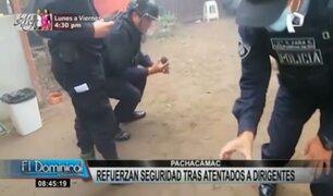 Manchay: piden apoyo del Mininter ante incremento de sicariato y crimen organizado