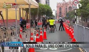 """""""Al Damero de Pizarro sin carro"""": cierran vías para ofrecer talleres y ferias gastronómicas"""