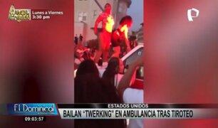 Indignación en EEUU: bailan 'twerking' en ambulancia con heridos tras tiroteo