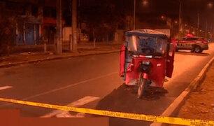 SMP: en confuso incidente mototaxista fue asesinado a balazos dentro de su unidad