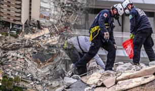 EEUU: Aumenta a cinco el número de fallecidos por colapso de edificio en Florida