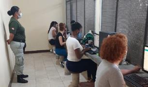 Penal de Tumbes reanudó visitas virtuales de internos con familiares