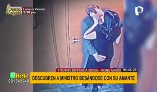 ¡Escándalo! Ministro de Salud es fotografiado besándose con su amante