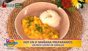 Hoy en D'Mañana: aprenda a preparar un locro de zapallo en solo 5 minutos