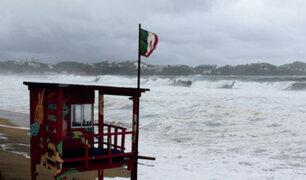 Huracán Enrique deja considerables daños a su paso por ciudades del oeste de México