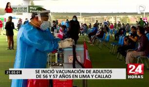 COVID-19: Óscar Ugarte supervisó inmunización a adultos mayores de 56 años en el Agustino