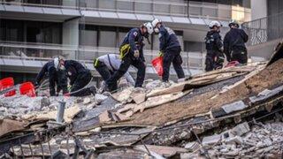 Estados Unidos: fallecidos por derrumbe en Florida suben a 11 personas