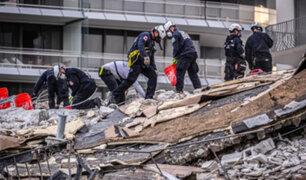 Derrumbe en Miami: se elevan a 11 los fallecidos y 150 personas aún siguen desaparecidas