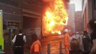 Reino Unido: explosión en una estación del metro de Londres
