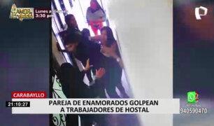 Parejas de enamorados ebrios atacaron a trabajadores de hostal en Carabayllo