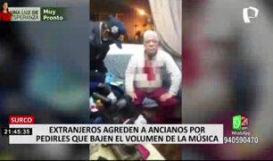 Surco: venezolanos agredieron a ancianos por pedirles que bajen el volumen de la música