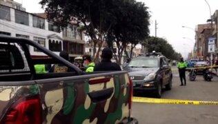Muere repartidora de delivery que fue embestida por un camión en SJL