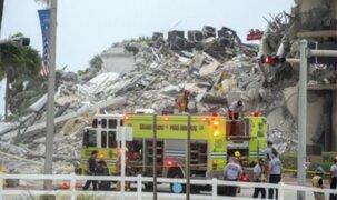 Derrumbe en Miami: el número de muertos sube a 18 tras hallazgo de dos niños