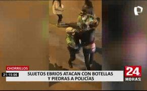 Policías nuevamente expusieron sus vidas al intervenir 'fiesta covid' en Chorrillos