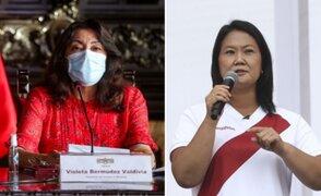 Keiko Fujimori: Gobierno responderá pedido de auditoría internacional en los próximos días