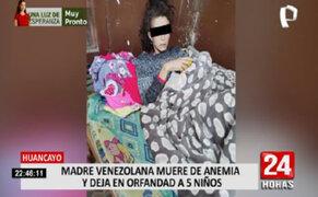 Huancayo: madre venezolana falleció de anemia y deja en orfandad a 5 menores