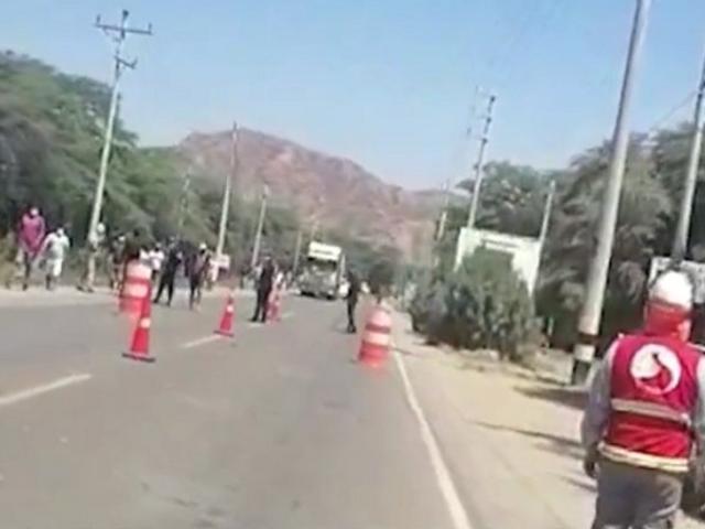 Tumbes: denuncian agresión a agentes de la Sutran durante acciones de control