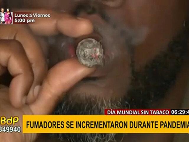 COVID-19: fumadores aumentaron durante pandemia, según estudio