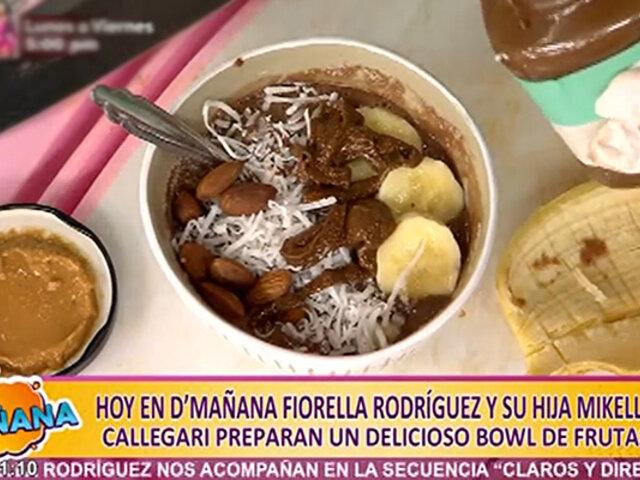 Fiorella Rodríguez y su hija comparten sus secretos de cocina en D'Mañana