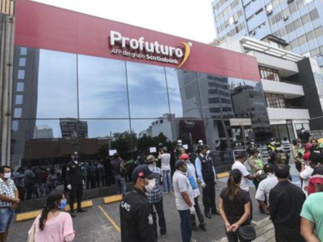 Retiro AFP: afiliados reportan problemas en la web para presentar solicitudes