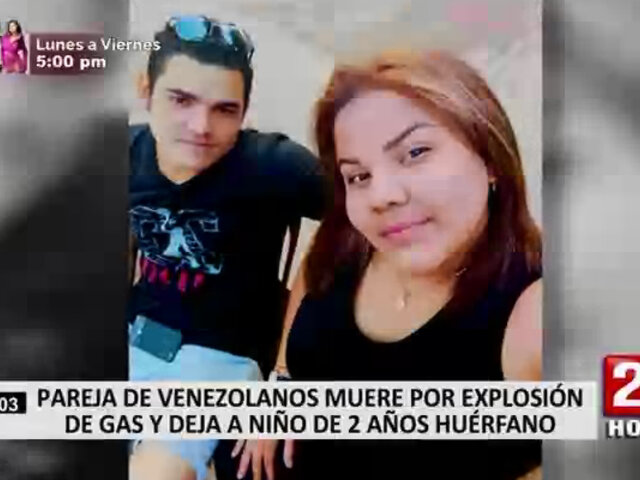Comas: niño quedó huérfano tras explosión de balón de gas y posterior incendio