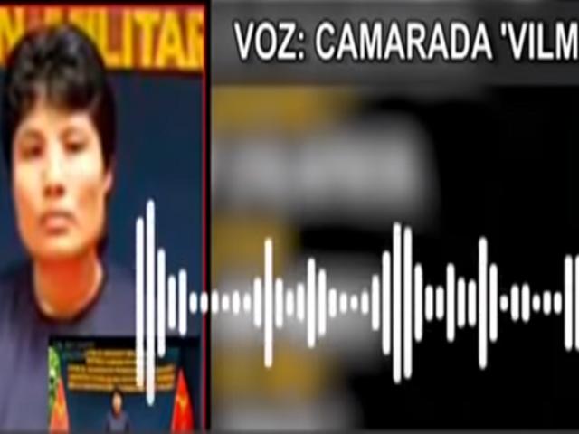 "Revelan nuevos audios de la ""Camarada Vilma"" de Sendero Luminoso"