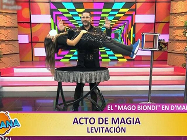 D'Mañana recibe al Mago Biondi, primer peruano ganador del Merlin Award 2021