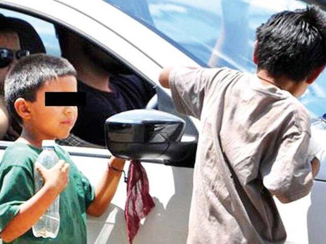Rescatan a menores que eran alquilados para mendigar con desconocidos