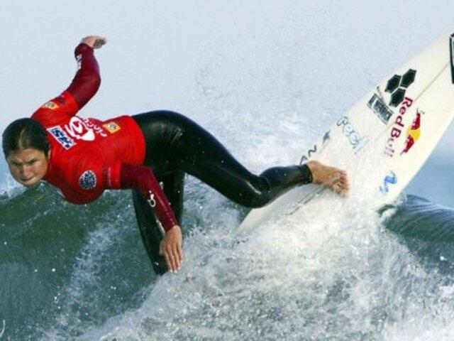 No irá a los Juegos Olímpicos Tokio 2020: Sofía Mulanovich quedó eliminada del Mundial ISA
