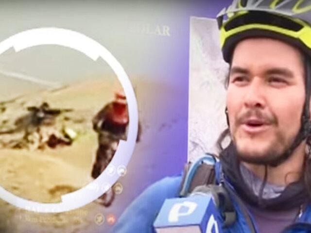 BDP comprueba los peligros a los que se exponen  los ciclistas en el Morro Solar