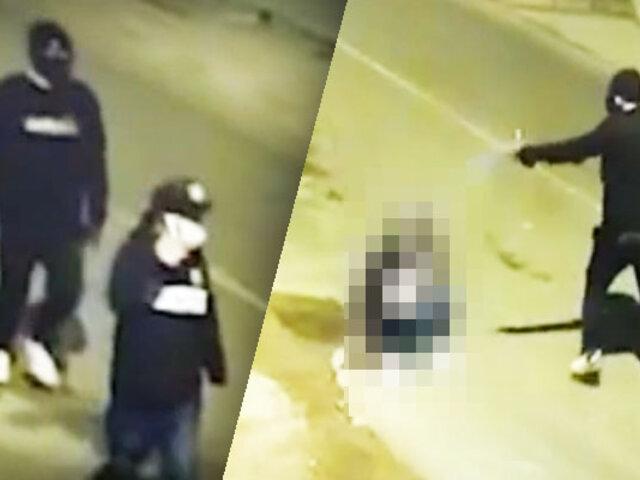 Asesinan a hombre de 5 balazos en Santa Anita