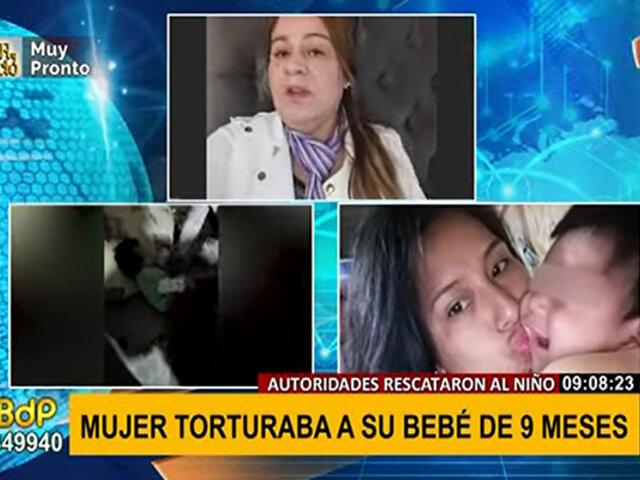 Madre tortura a su bebé: MIMP se encarga del caso y pone a los niños a buen recaudo