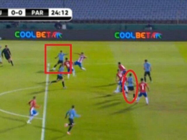 Uruguay vs. Paraguay: Conmebol acepta grosero error y suspende a dos árbitros colombianos