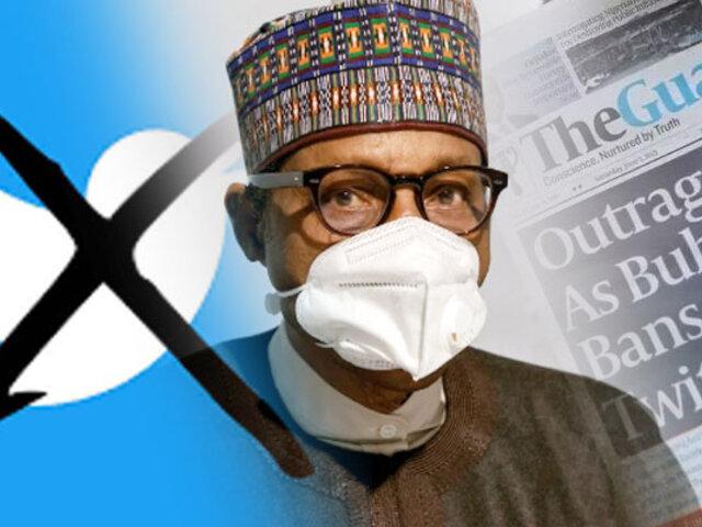 Presidente de Nigeria ordena suspensión indefinida de Twitter en su país