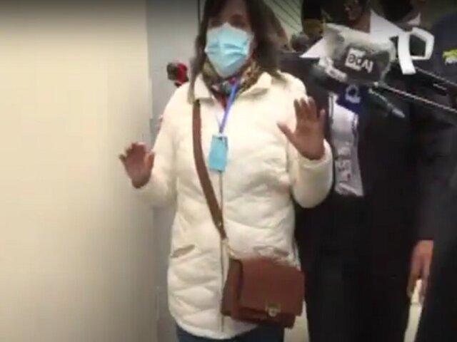 Dina Boluarte: candidata a la vicepresidencia de Perú Libre fue agredida luego de votar